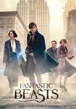 Image: Fantastic Beasts Puzzle: Search  (1000-Piece) - Usaopoly