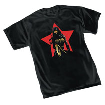 Image: Wonder Woman T-Shirt: Star  (L) - Graphitti Designs