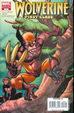 Image: Wolverine: First Class #6 (incentive cover - Espin) - Marvel Comics