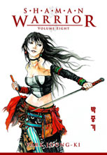 Image: Shaman Warrior Vol. 08 SC  - Dark Horse