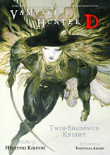 Image: Vampire Hunter D Novel Vol. 13: Twin Shadowed Knights 1 & 2 SC  - Dark Horse Comics