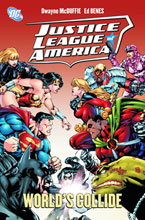 Image: Justice League of America: When Worlds Collide HC  - DC Comics