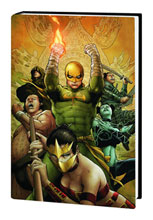 Image: Immortal Iron Fist Vol. 05: Escape from the Eighth City HC  - Marvel Comics