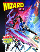 Image: Wizard Magazine #215 (Marvel 70th Anniversary Jam cover) - Wizard Entertainment