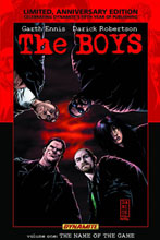 Image: Boys Vol. 01: Name of the Game Limited ed. HC  - D. E./Dynamite Entertainment
