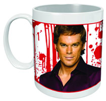 Image: Dexter Color Changing Mug  - Dark Horse