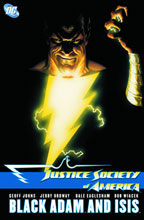 Image: JSA: Black Adam and Isis SC  - DC Comics
