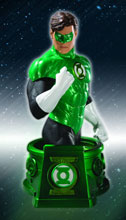 Image: Heroes of the DCU Bust: Blackest Night Hal Jordan  - DC Direct