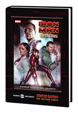 Image: Iron Man Extremis HC  (w/Motion Comic DVD) - Marvel Comics