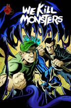 Image: We Kill Monsters SC  - Red 5 Comics