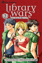 Image: Library Wars Vol. 02 SC  - Viz Media LLC
