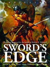 Image: Sword's Edge: Paintings Inspired by the Works of Robert E. Howard HC  -