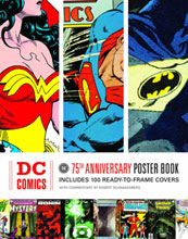 Image: DC Comics: The 75th Anniversary Poster Book SC  -