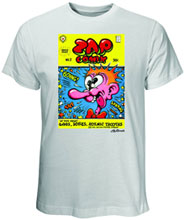 Image: Zap Comix Cover #2 White T-Shirt  (M) -