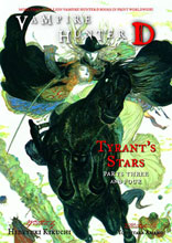 Image: Vampire Hunter D Novel Vol. 17: Tyrants Stars Parts 3 & 4 SC  - Dark Horse