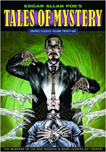 Image: Graphic Classics Vol. 21: Edgar Allen Poe's Tales of Mystery SC  - Eureka Productions