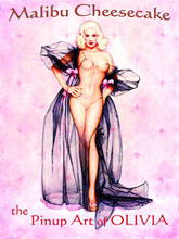 Image: Malibu Cheesecake: The Pinup Art of Olivia HC  -