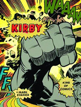 Image: Kirby: King of Comics HC  (sale edition)
