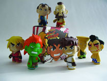 Image: Street Fighter Mini-Figure 20-Piece Bmb Display Series 01  -