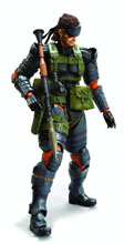 Image: Metal Gear Solid: Peace Walker Snake Play Arts Kai AF Blu-Ray Version  -