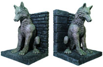 Image: Game of Thrones Bookends: Dire Wolf  - Dark Horse Comics