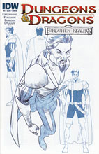Image: Dungeons & Dragons: Forgotten Realms #4 (10-copy incentive cover) - IDW Publishing