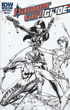 Image: Danger Girl / G.I. Joe #2 (10-copy incentive cover) - IDW Publishing