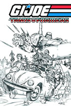 Image: G.I. Joe / Transformers Vol. 01 SC  - IDW Publishing