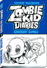 Image: Zombie Kid Diaries Vol. 02: Grossery Games SC  - Viz Media LLC