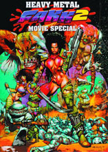 Image: FAKK 2 Movie Special: Simon Bisley Artbook HC  - Heavy Metal Magazine