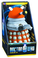 Image: Doctor Who: Orange Dalek Talking Plush  -