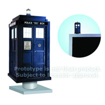 Image: Doctor Who Bobble Head: Tardis Monitor Mate  -