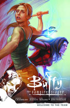 Image: Buffy the Vampire Slayer Season 9 Vol. 04: Welcome to the Team SC  - Dark Horse Comics