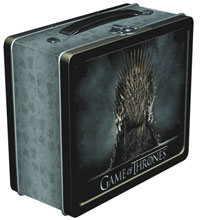 Image: Game of Thrones Iron Throne Lunchbox  - Dark Horse Comics