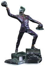Image: Joker Patina Mini-Statue  - DC Comics