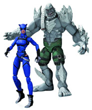 Image: Injustice Catwoman vs. Doomsday 2-Pack Action Figure  - DC Comics