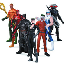 Image: DC New 52 Super Heroes vs. Super Villains Action Figure 7-Pack  - DC Comics