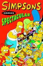 Image: Simpsons Comics Vol. 03: Spectacular SC  (new printing) - Bongo Comics