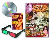 Image: Bettie Page in Danger #10 (Celebration Set w/DVD) - Shh Productions