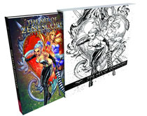Image: Art of Zenescope Previews Exclusive Limited Edition HC  - Zenescope Entertainment Inc