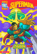Image: DC Super Heroes Superman Young Readers: Little Green Men SC  - Capstone Press