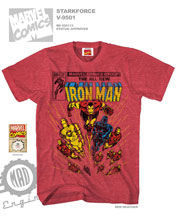 Image: Iron Man: Stark Force T-Shirt [Red Heather]  (M) -