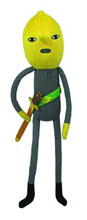 Image: Adventure Time 7-inch Fan Fave Plush: Lemongrab  -