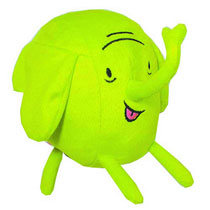 Image: Adventure Time 7-inch Fan Fave Plush: Tree Trunks  -