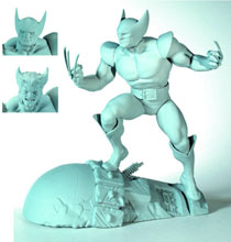 Image: Wolverine Snap-Together Plastic Model Kit  -