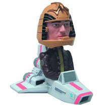 Image: Battlestar Galactica Bobble Head: Colonial Viper w/Apollo  -