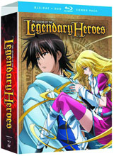 Image: Legend of the Legendary Heroes Complete Series Bluray+DVD  -