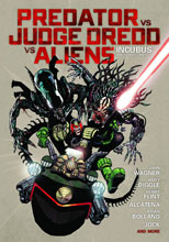 Image: Predator vs. Judge Dredd vs. Aliens: Incubus and Other Stories HC  - Dark Horse Comics