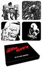 Image: Sin City Set of Four Coasters 2  - Dark Horse Comics