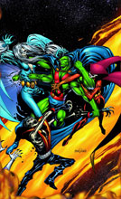 Image: Martian Manhunter: Rings of Saturn SC  - DC Comics